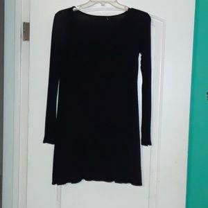 Black dress from Tillys